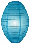 "14"" Turquoise Kawaii Unique Shaped Paper Lantern"