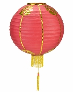 "30"" Traditional Chinese Lantern w/Tassel"