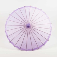 "32"" Light Purple Parasol Umbrella, Premium Nylon"