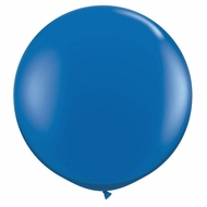 "36"" Royal Blue Round Party Latex Balloon Decorations (2 PACK)"