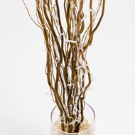 "48"" LED Light Up Willow Branches, Brown Floral Decoration (Battery Operated)"