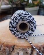 Black Bakers Twine Decorative Craft String (110 Yards)