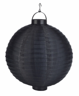 Black LED Round Nylon Battery Lantern