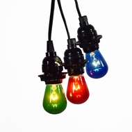 Triple Socket Black Pendant Light Lamp Cord for Lanterns, 19 FT, UL Listed