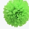 "EZ-Fluff 12"" Light Lime Tissue Paper Pom Poms Flowers Balls, Decorations (4 PACK)"