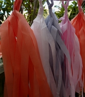 BLOWOUT Tissue Paper Tassel Garland Kit - Powder Mix