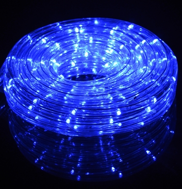 Blue fairy led outdoor string rope light 33ft clear tube on sale blue outdoor led fairy string rope light 33 ft clear tube ac plug in aloadofball Image collections