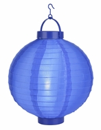 Dark Blue LED Round Nylon Battery Lantern