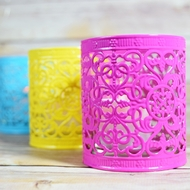 Moroccan Style Filigree Candle Holders