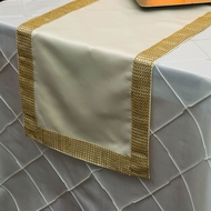 Diamond Concave Sequin Table Runners