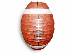 Football Paper Lantern Shaped Sports Hanging Decoration