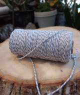 Gray Bakers Twine Decorative Craft String (110 Yards)
