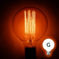 Incandescent G-Style Light Bulbs (G40, G50, G80, all Globe Light Bulbs)