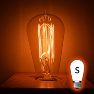 Incandescent S-Style Light Bulbs (Sign / Straight Tube, ST)