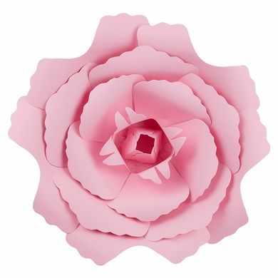 Large 12 Pink Peony Paper Flower Backdrop Wall Decor 3d Premade