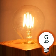 LED G-Style Light Bulbs (G40, G50, G80, all Globe Light Bulbs)