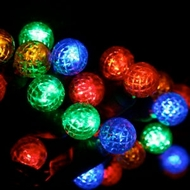 LED G12 Raspberry String Light Sets - 70 Bulbs