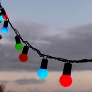 LED Large Ball String Lights