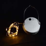 MoonBright™ LED Mason Jar Lights, Battery Powered for Wide Mouth - Warm White (Lid Light Only)