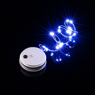 MoonBright™ LED Mason Jar Lights, Battery Powered for Regular Mouth - Blue (Lid Light Only)