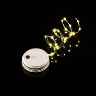 MoonBright™ LED Mason Jar Lights, Battery Powered for Regular Mouth - Warm White (Lid Light Only)