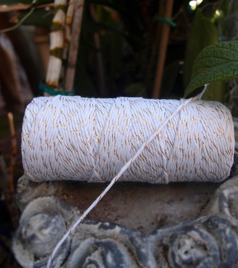 Metallic Gold Bakers Twine Decorative Craft String (110 Yards)