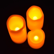 Mini Flameless LED Candle Light (3 PACK) (Discontinued)