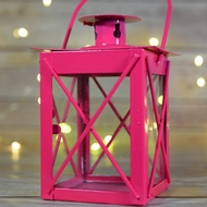Mini Square Hurricane Lanterns