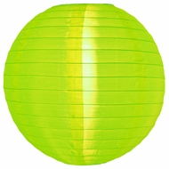 Neon Green Nylon Lanterns