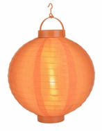 Orange LED Round Nylon Battery Lantern