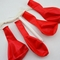 Pearl Red Chalkboard Balloons for DIY Party Messages w/ Pen (10-PACK)