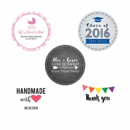 Personalized Favor Labels and Stickers