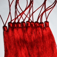 Red Tassel Hanging Ornament Accessory (10 PACK)