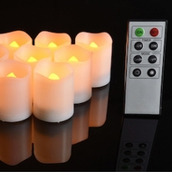 Remote Controlled LED Tea Light Candles