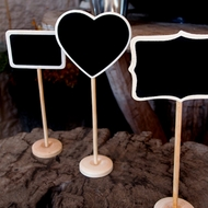 Standing Chalkboard Table Number Holder