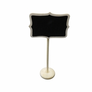 Large Rectangular Standing Wedding Chalkboard Sign Table Number Holder