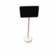 BLOWOUT Small Rectangular Standing Wedding Chalkboard Sign Table Number Holder