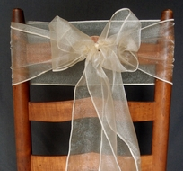 Stretch Fabric Chair Covers and Sashes