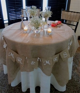 Table Cloth Covers and Overlays