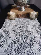 Vintage White Lace Style No.1 Table Runner (12 x 108)