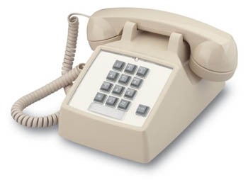 2500 Basic Desk Phone with Flash (ITT-2500-V-BK)
