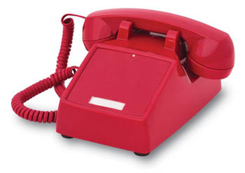 2500 Hotline Desk Phone - No Dial Pad (ITT-2500NDL)
