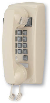 2554 Basic Wall Mount Phone w/ Flash & Message Waiting (255444VBA20M)