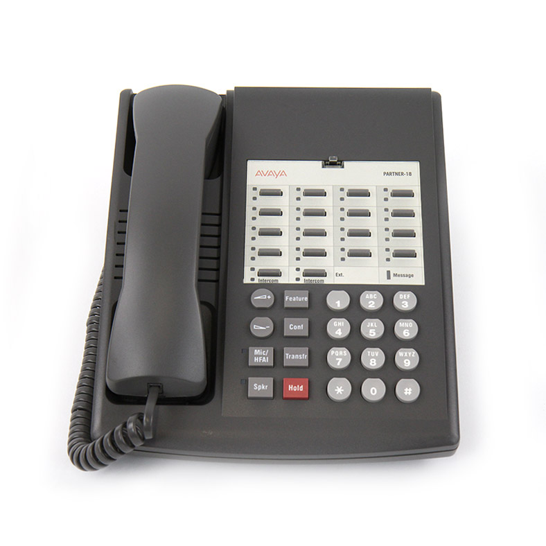 avaya partner euro 18 phone 3158 05. Black Bedroom Furniture Sets. Home Design Ideas