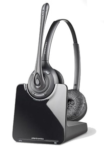Plantronics Binaural Wireless Headset (CS520)