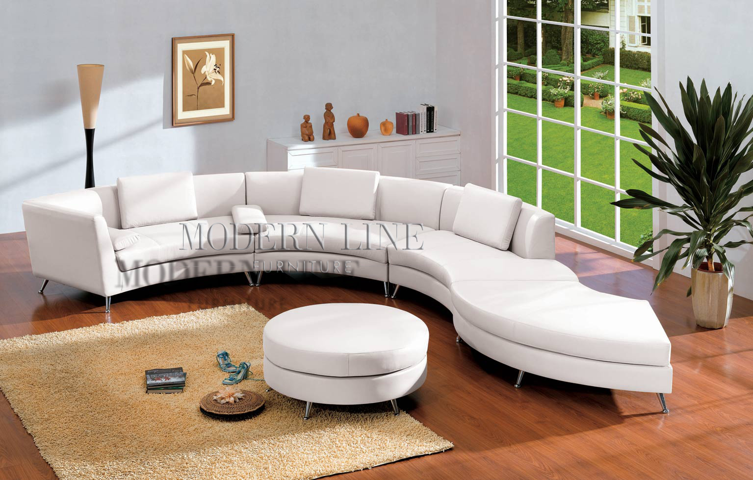 Modern Line Furniture - Commercial Furniture - Custom Made Furniture | Seating Collection | | | 2-in-1 Contemporary Furniture Design White Leather Sectional ... : white leather sectional modern - Sectionals, Sofas & Couches