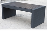 Black Wicker - All-Weather Collection- Dining Table