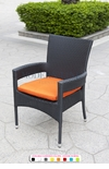 Black Wicker - All-Weather Collection - Dining Chair