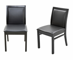 50% OFF! ULTIMATE DEAL Leisure Restaurant Chair with Black Frame Finish