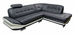 Clearance! Black and White Sectional Sofa